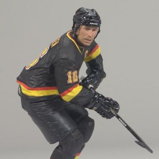 McFarlane Toys Sports Picks NHL Series 17 Action Figure Trevor Linden (Vancouver Canucks)