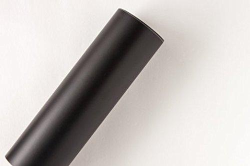 [해외]매트 블랙 12 by 30 FEET 접착 롤 - StyleTech의 Cricut, Silhouette Cameo, Craft Cutters 및 Vinyl Sign 커터 용/Matte Black 12  by 30 FEE
