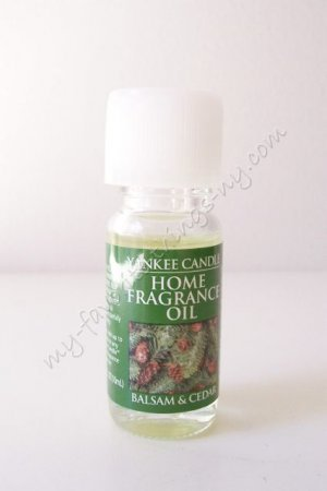 Yankee Candle Home Fragrance Oil - Balsam & (Balsam Fragrance Oil)