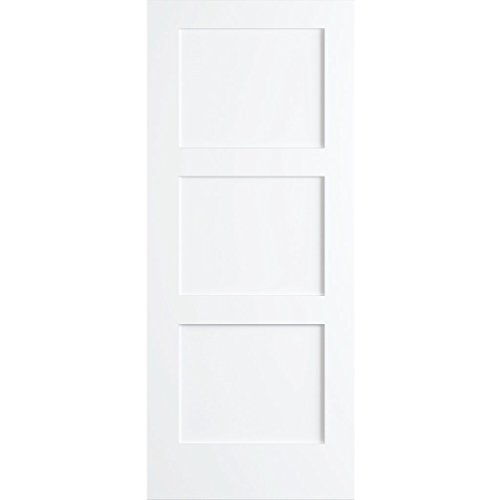 Kimberly Bay 28 In X 80 In White 1 Panel Shaker Solid: Prehung Interior Doors For Sale