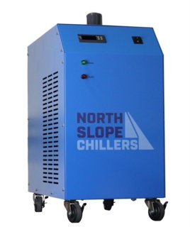 (North Slope Chillers - NSC0250-FROST 1/4 Ton/HP Light-Duty Portable Industrial Glycol Chiller, 1.5 Gallon Reservoir Capacity, 3.5 GPM Max)