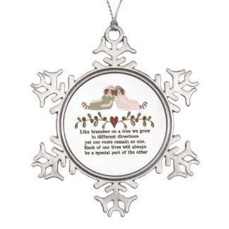 Monroe Valentine Gift Sister Poem Holiday Christmas Snowflake Xmas Tree Decorative Ornaments Wedding Anniversary Keepsakes