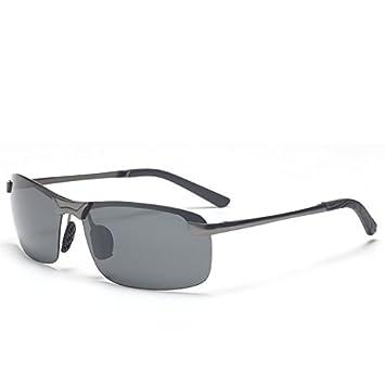 GCR Sonnenbrille Schatten Polarisierende Brille Edelstahl Sport Polarisierte Licht Night Vision Sonnenbrillen , A