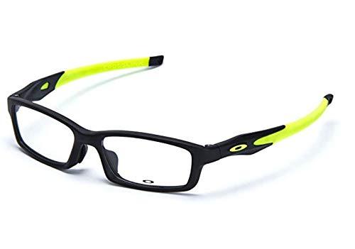 d920d51397be OAKLEY CROSSLINK PRO OX3149-0156 Satin Black Lime Green Mens Prescription  Glasses