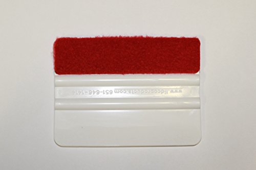 INDUSTRY STANDARD 4-INCH SQUEEGEE/ROLLEPRO WRAPIDGLIDE MICRO-FLEECE SQUEEGEE COVERS by Rollepro (Image #2)