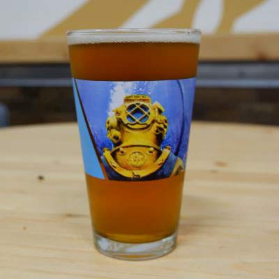 Ballast Point Brewing Company - Fathom IPL(India Pale Lager) Pint Glass