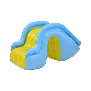 Molare Toboganes Inflables De Agua Suministros para Piscinas Felices Instalaciones De Entretenimiento Acuático para Niños Toboganes Inflables Deben Usarse con Piscinas intensely