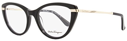 SALVATORE FERRAGAMO Eyeglasses SF2731 001 Black 52MM by Salvatore Ferragamo