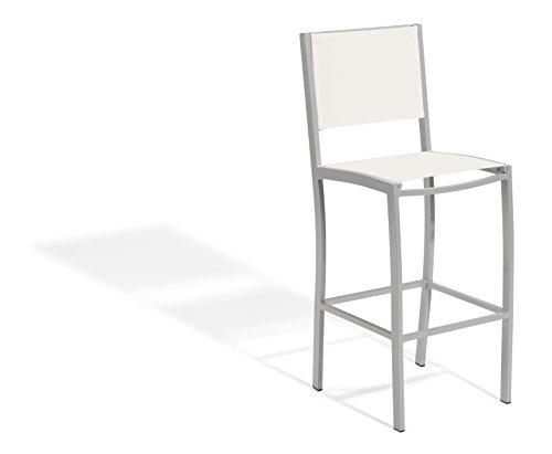 (Oxford Garden - Travira Collection Bar Chair Sling, Natural)