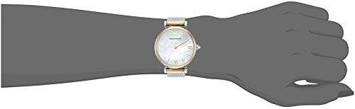 Emporio Armani Women's AR2068 Retro Two Tone Quartz Watch