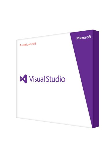 Microsoft Visual Studio Professional 2013 Software De Desarrollo 1 Usuario