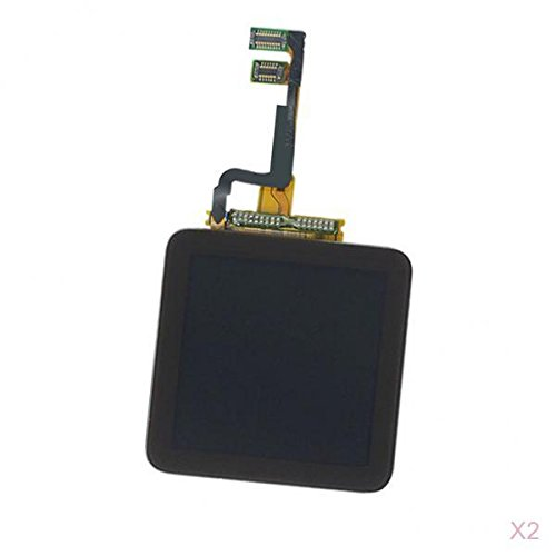 Flameer 2 X Front Touch Screen Digitizer + LCD Assembly For iPod Nano 6th 6 6G Replace Repair Kit