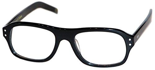 Magnoli Clothiers Kingsman Glasses (Black (Clear Lenses)) by Magnoli Clothiers