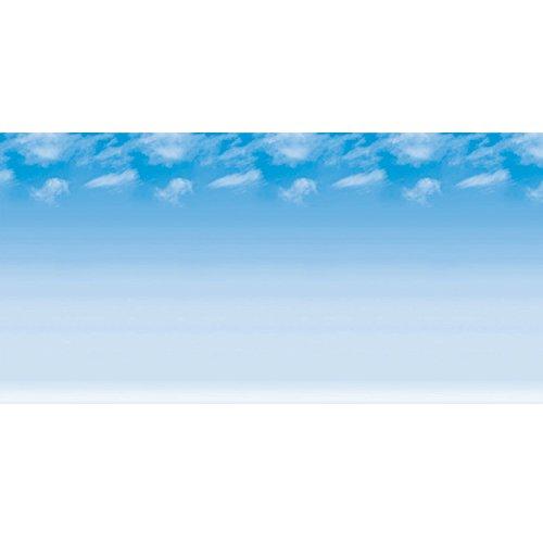 Fadeless PAC56935 Bulletin Board Art Paper, Wispy Clouds, 48