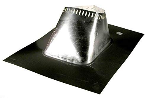 Selkirk Flashing - Selkirk Metalbestos 8T-AF6 Stainless Steel Adjustable Flashing, 8-Inch, Mill