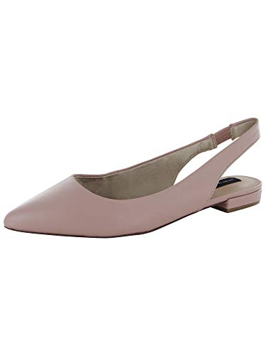 (STEVEN by Steve Madden Womens Leo Slingback Pump Shoes, Blush Leather, US 11)
