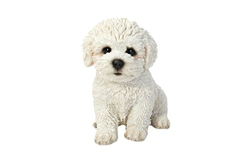 "Hi-Line Gift Ltd Sitting Bichon Frise Puppy, 6"""