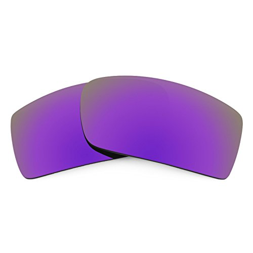 Revant Polarized Replacement Lenses for Oakley Gascan Plasma Purple MirrorShield ()