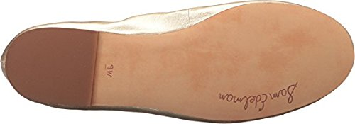Felicia Molten Edleman Bailarinas Metallic Sheep Leather Gold Sam Mujer Soft Z5IApwxqR