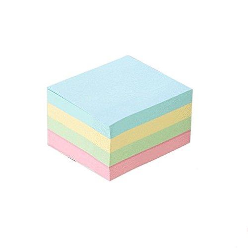 Sticky Notes4 Bright Color Self-Stick Notes Sticky Notes 12 Pads/Pack 100 Sheets/Pad Sticky Notes 3 X 3 Inches Individually Package,Sticky issue is improved