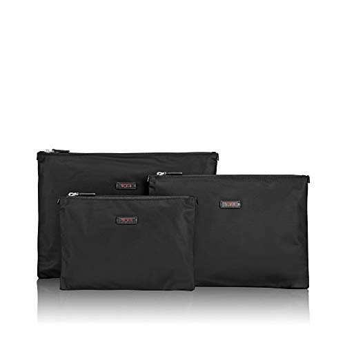 (TUMI - Travel Accessories 3 Pouch Set Packing Cubes - Luggage Organizer Bag - Black)