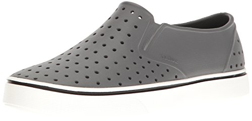 Native Mens Miles Water Shoe Dublin Grey / Shell White