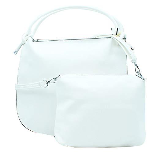 Misemiya - Sac à main pour femme et sac à bandoulière pour homme Sr-h149 (40 * 36 12cm) Beige