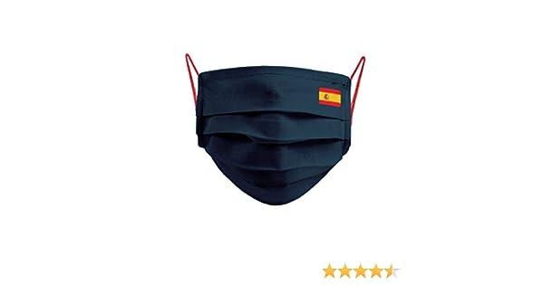 Cencibel Smart Casual Mascarilla Bandera España Pequeña y Gomas ...