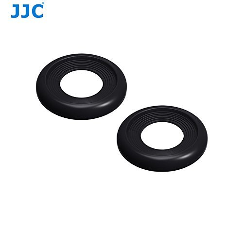 JJC EF-XPRO2 Soft Silicone Eye Cup for Fujifilm X-Pro2 Camera (2 pcs)