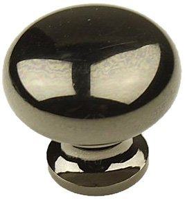 Hardware Century Plymouth (Century Hardware 12405-NB Plymouth Solid Brass Knob Cabinet, Black by Century Hardware)