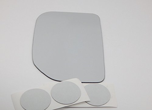 Aftermarket Fj Cruiser Accessories (07-14 Toy FJ Cruiser Left Driver Side Replacement Mirror Glass Lens w/Adhesive USA w/o optional rear backing plate)