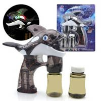 Amazon.com Light up Killer Whale TOY Bubble Machine Blower