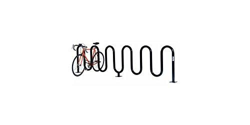 Jaypro Bicycle Rack (Permanent Wave Bicycle Rack (9 Cap, Surface))