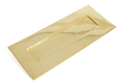 From the Anvil 33060 Small Cast Letter Plate - Polished Brass by From the Anvil ()