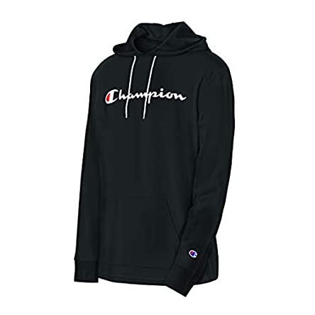 Champion Men's Middleweight Jersey Hoodie, Script...
