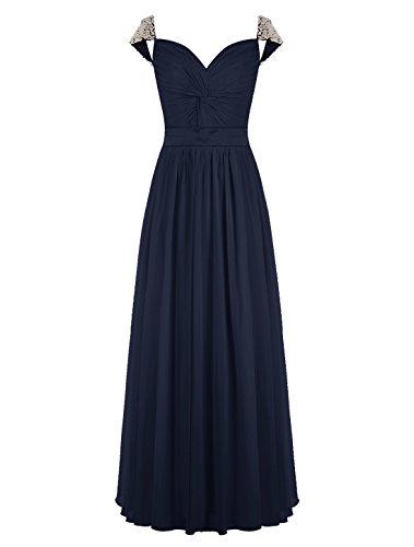 Buy belsoie chiffon bridesmaids dresses - 9