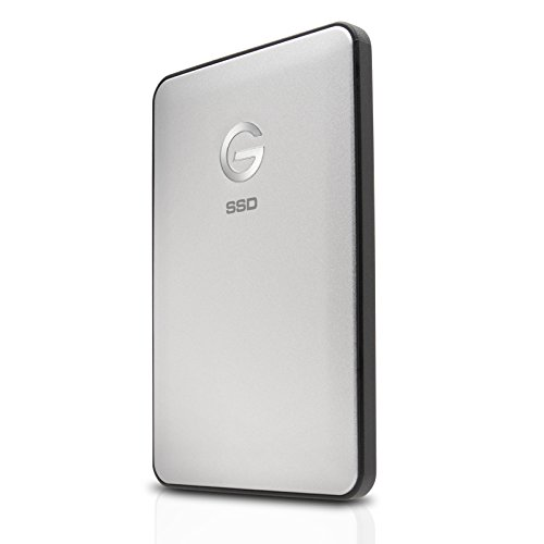G-Technology 0G05272 500GB G-DRIVE slim Portable SSD Drive - USB-C by G-Technology (Image #1)