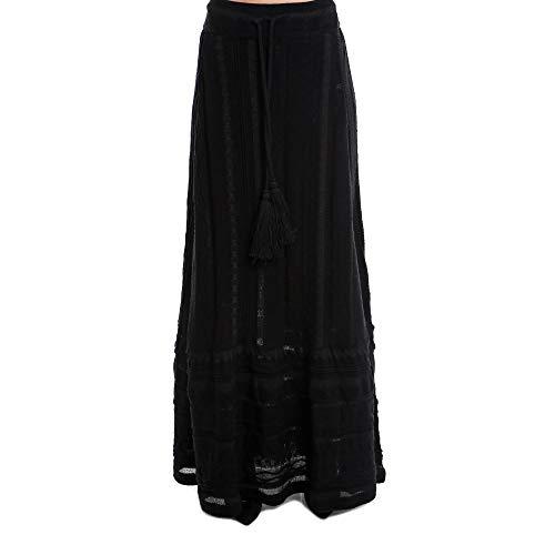 Coton Laneus Noir Gnd14002 Femme Jupe MSUzVp