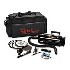 ** ESD-Safe Pro 3 Professional Cleaning System, w/Soft Duffle Bag Case, Black ** by Data-Vac