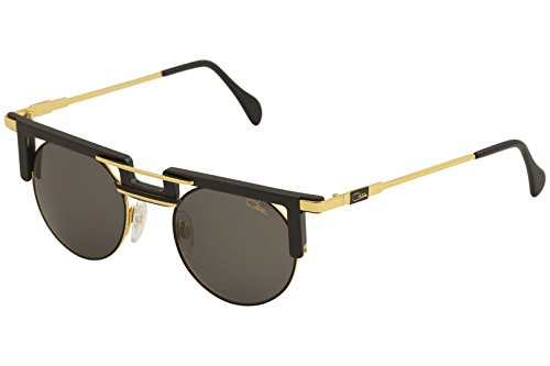 22cb8c8ee6b Cazal Legends Men s 745 001SG Black Gold Fashion Pilot Sunglasses 48mm