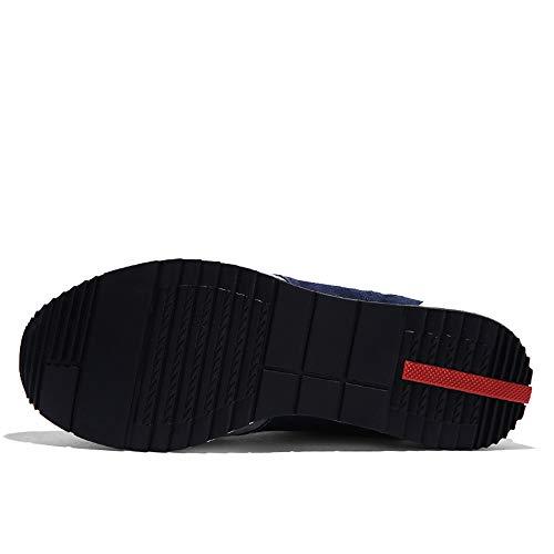 da Ginnastica Basse Classica Casual Scarpe da Blu Sneaker 44 Grigio 38 Stringata Sportive Uomo fFgnnEw4q1