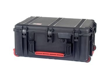 HPRC HPRC2760WFBlack Wheeled Hard Case with Foam, Black