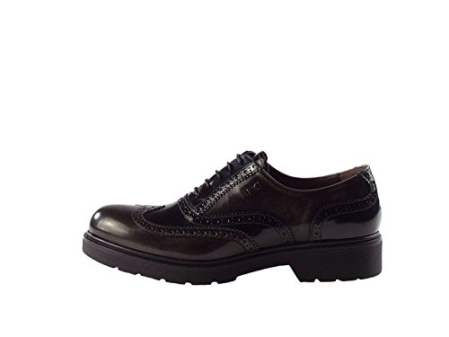 Mujer A616170d Bajo Antracita Zapato Giardini Negro Nero 4waqHzx