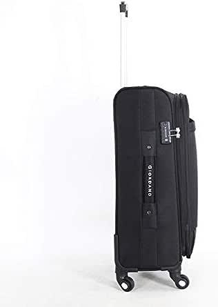 Giordano Soft Case Trolley Bag - Set Of 4 Pieces, Black, Unisex