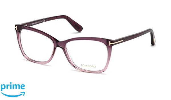 1d2970b4429 Eyeglasses Tom Ford FT 5514 083 violet other at Amazon Men s Clothing store