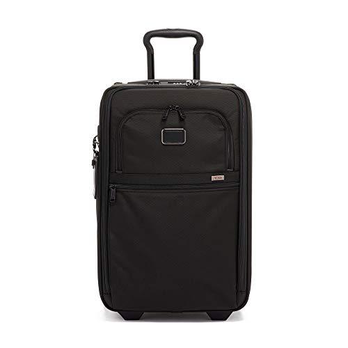 - Tumi Unisex Alpha 3 International Expandable 2 Wheeled Carry-On Black One Size