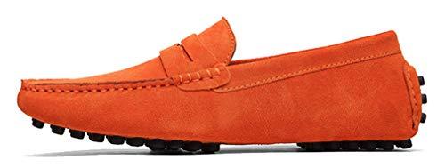 EU Stringate Arancione Uomo Scarpe Orange Basse 40 Femaroly qwZBv81S