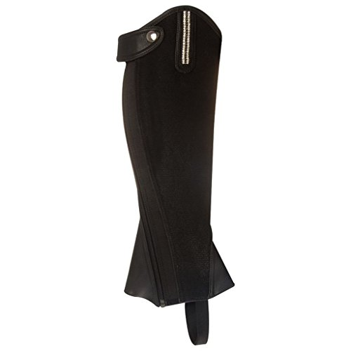 Sparkling Synthetik IR schwarz Leder Chaps schwarz Mini q6qfEHwI