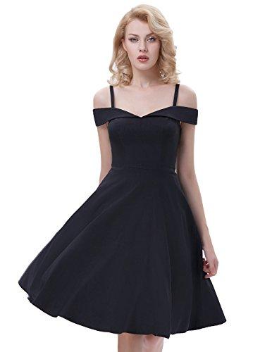 a line off shoulder dress - 4