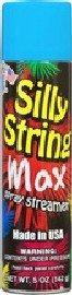 Silly String Max Spray Streamer 5oz